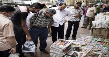 صحف.. باائع جرائد