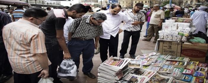 نقيب متعهدي الصحف بالزقازيق يطالب مجلس الوزراء بوقف محاضر الإشغالات