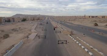 الطريق الدولي بطور سيناء