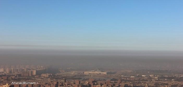 بالصور.. ليست مدينة صينية لكنه التلوث يحجب رؤية القاهرة