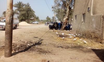سلخانة المنشأة في سوهاج (تصوير محمد يحيي)