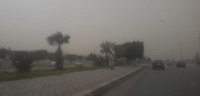 موجة من الطقس السيىء في الإسماعيلية (صور)