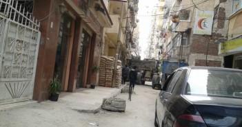 بناء عمارة مخالفة في الإسكندرية