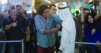 مشهد من الفيديو الدعائي للسياحة مصر قريبة