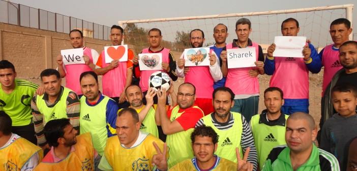 مواطنو الخانكة يحتفون بـ«شارك المصري اليوم»: فكرة مبتكرة للتواصل مع الجماهير (صور)