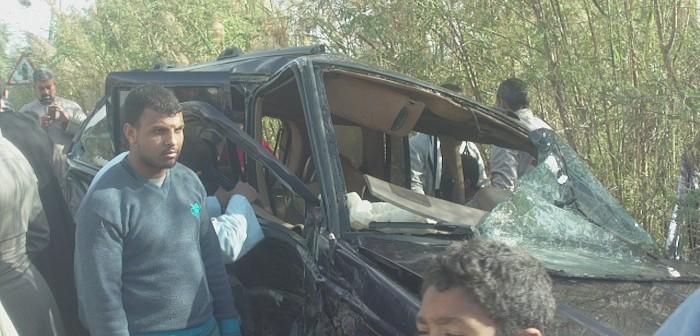 بالصور.. حادث مروع في سوهاج بعد 11 يومًا من تجاهل المحافظ استغاثة الأهالي