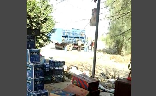 بالفيديو.. تهريب أنابيب الغاز للسوق السوداء على طريق مصر ـ إسكندرية