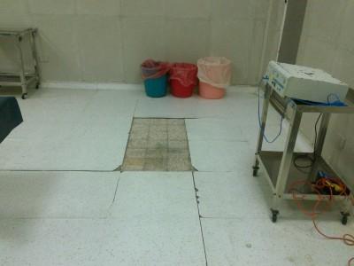 غرفة عمليات النساء في مستشفى المبرة بأسيوط معطلة