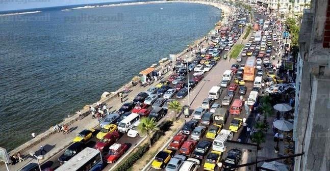 إلى محافظ الإسكندرية: أعد الانضباط المروري للشارع