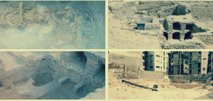 بالصور.. ردم مسرح العبد بالإسكندرية «في نص الليل».. وأثريون: «لا مثيل له»