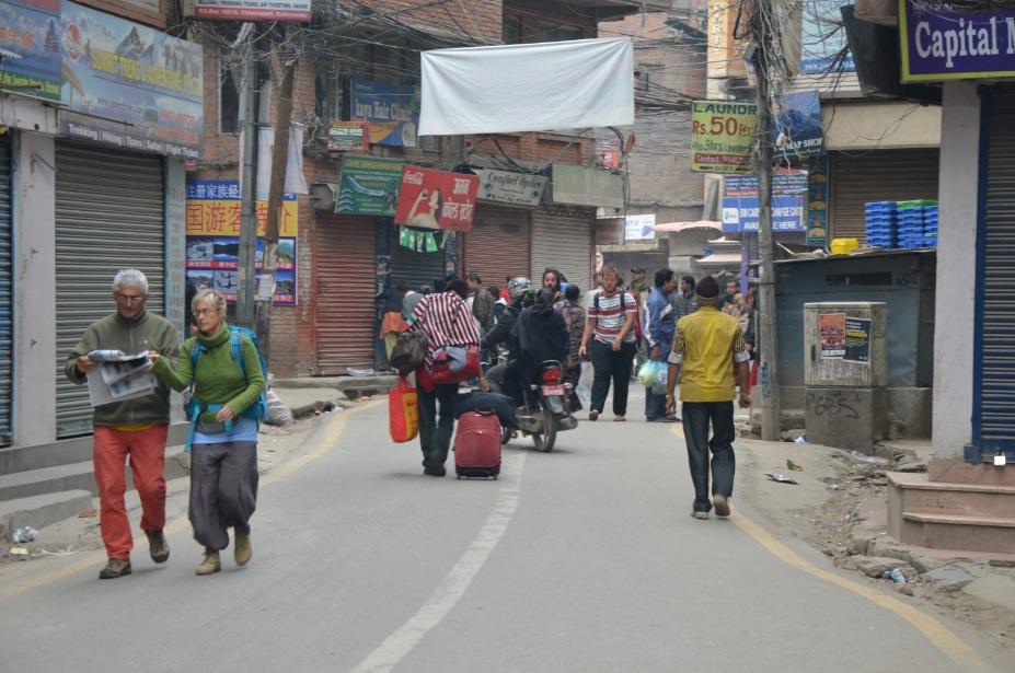 زلزال نيبال