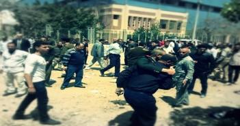 من انفجار كفر الشيخ