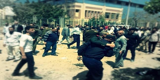 10 صور.. ناج من انفجار كفر الشيخ: «شيلت أشلاء أصحابي.. وكان بيني والموت ثواني»