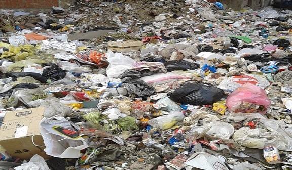 10 دقائق من قصر القبة.. القمامة تملأ «ترعة الجبل» بالزيتون: «دولة تانية»