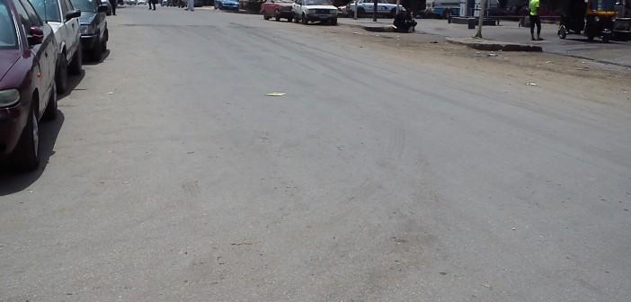 فيديو وصور.. شارع منصور بحلوان خال من الباعة الجائلين