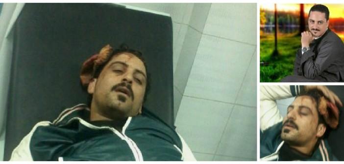 فيديو وصور.. مواطن يتهم ضابطي شرطة بضربه وإصابته بارتجاج في المخ