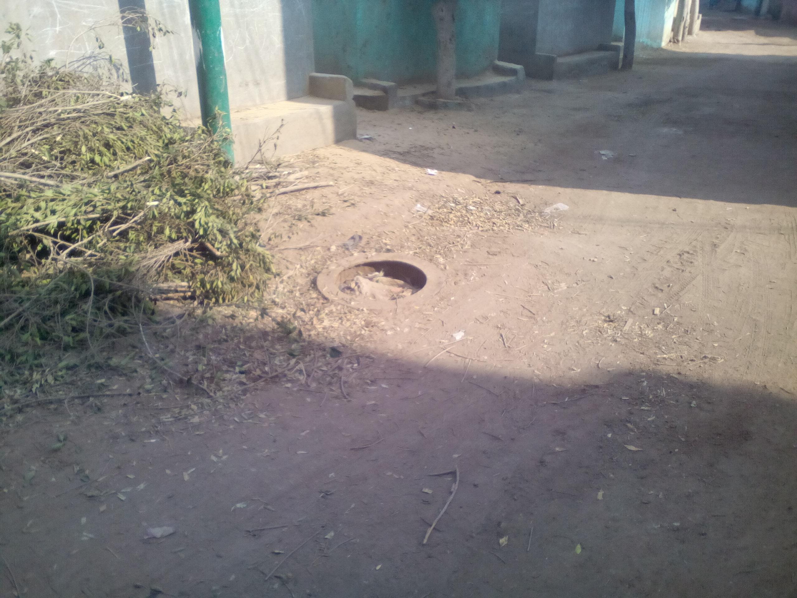 مشروع الصرف الصحي في الغربية