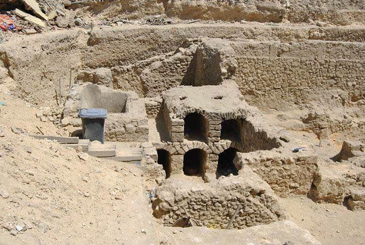 ردم مسرح العبد الأثري بالإسكندرية