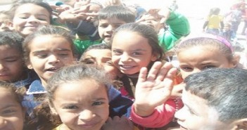 أطفال نوبيع بجنوب سيناء