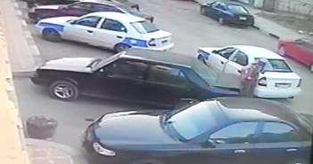 سرقة سيارة في بورسعيد في وقت النهار
