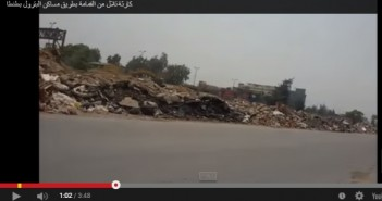 شارك المصري اليوم.. طريق مساكن البترول في طنطا يمتلىء بالقمامة