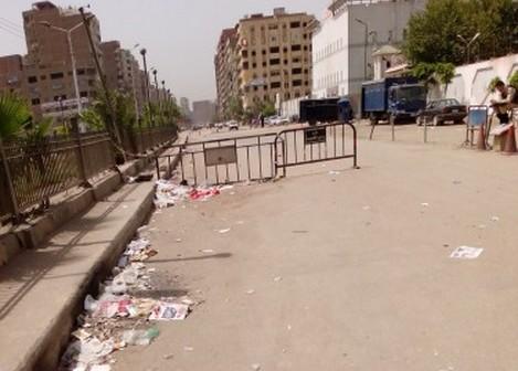 بالصور.. معاناة المواطنين من إغلاق الشوارع قرب أقسام الشرطة منذ «30 يونيو» 📷