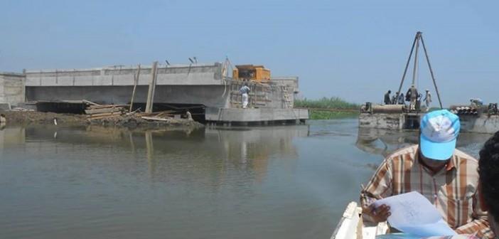 «طريق العجايبة» يردم 28 ألف فدان في بحيرة المنزلة رغم قرار بوقف أعماله