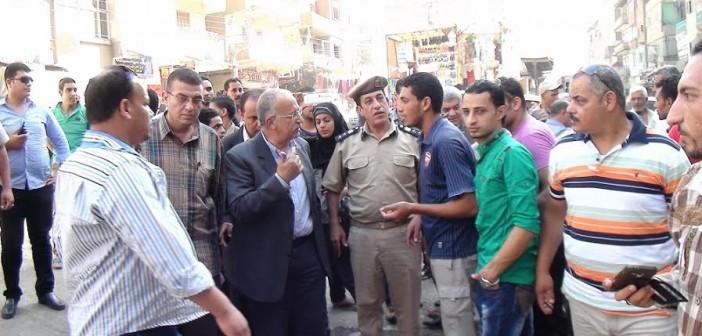 رئيس حي شرق المنصورة يرد على مطالب تصحيح أخطاء تجديد حديقة «قناة السويس»