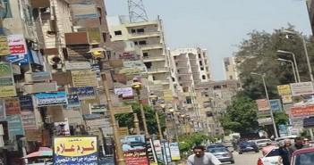 شوارع سوهاج مضيئة فى النهار تزامنا مع انقطاع الكهرباء