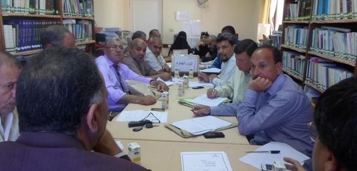 وكيل التعليم بجنوب سيناء يلتقي مديري الإدارات التعليمية