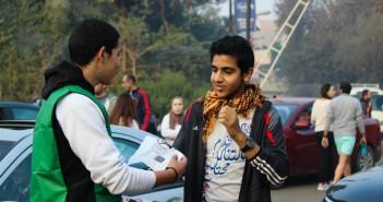 حملة حطها  في الكيس لمنع رمي القمامة من السيارات