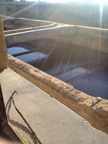 شوائب في أحواض محطة مياه بدمياط.. وتآكل مبانيها