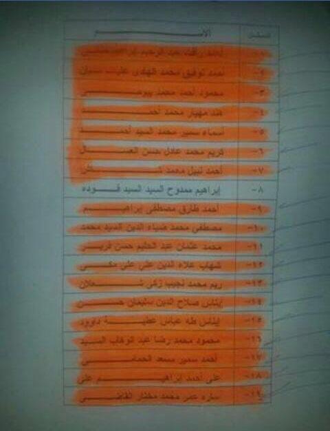 أسماء المقبولين في اختبارات السلك الدبلوماسي