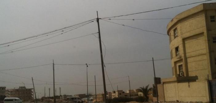 بالصور.. سرقة التيار الكهربي في مدينة العبور 📷