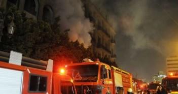 حريق قوات الدفاع المدني ـ وحدات الإطفاء