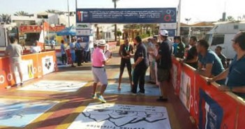 فعاليات اليوم الثاني لبطولة الترايثلون العربية في شرم الشيخ