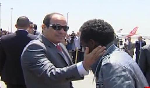 رأي|| استقبال الرئيس للإثيوبيين العائدين من ليبيا في المطار