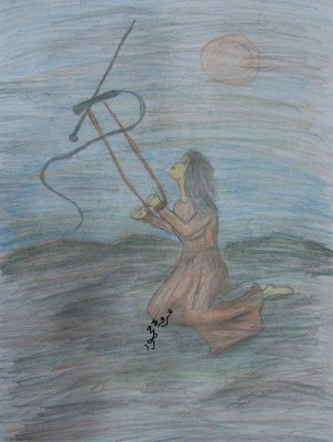 رسم مروة محمود