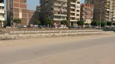 المنصورة.. أخطاء في تجديدات حديقة شارع قناة السويس بجديلة