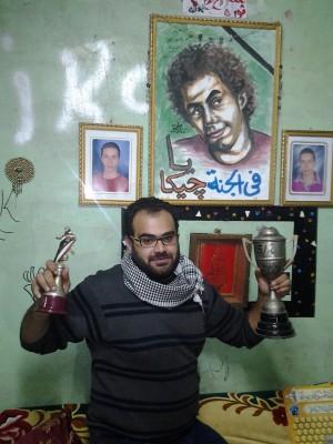 محمد سامي ابن خال جيكا (تصوير طارق تيتو)