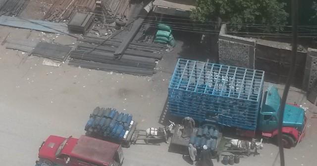 قنبلة موقؤتة داخل حي سكني بالفيوم 📷