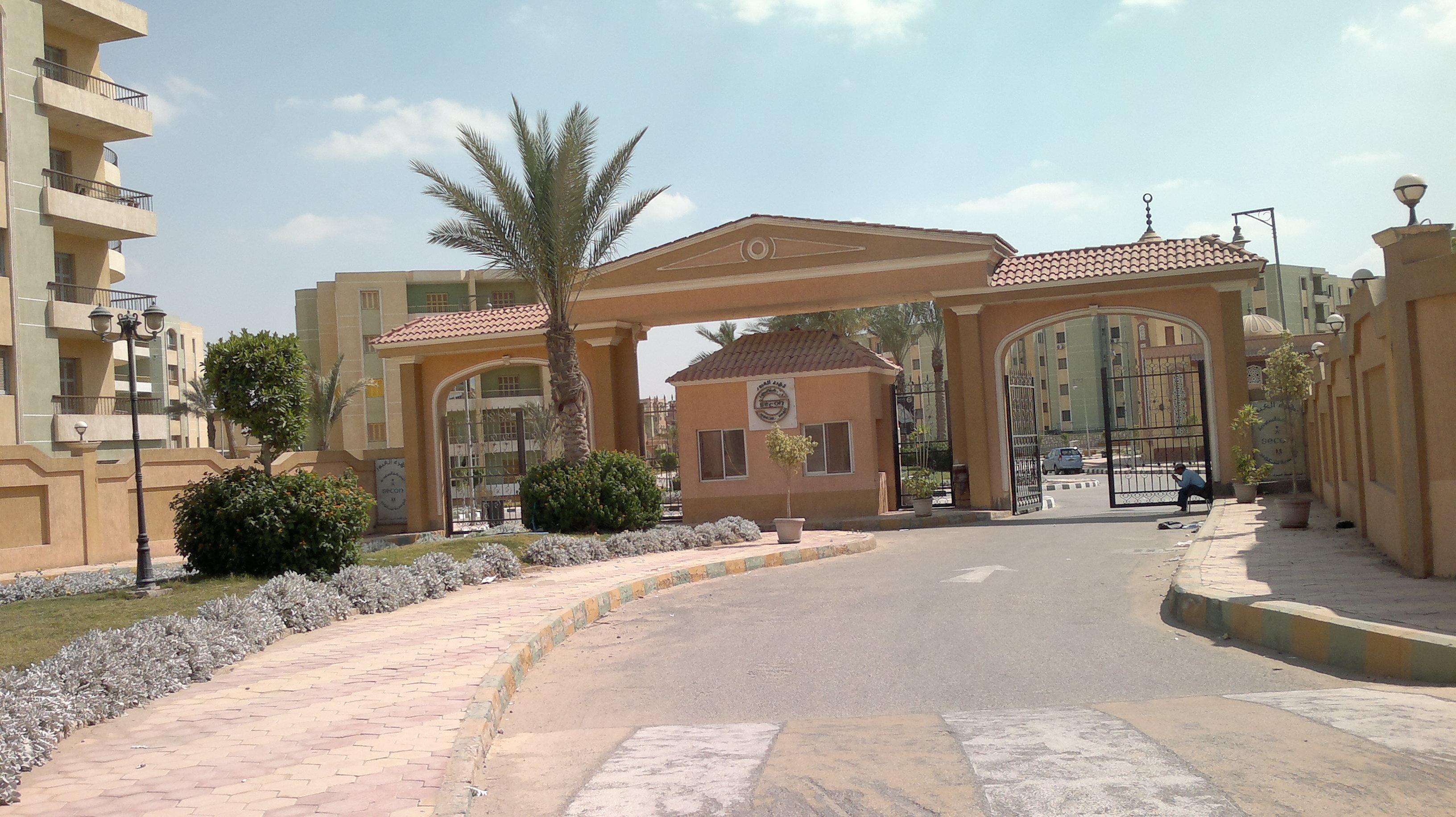 البوابة الرئيسية للكمبوند