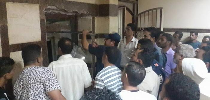 بالصور.. سقوط «أسانسير» مستشفى بالبحيرة.. وإصابة 4 مواطنين 📷