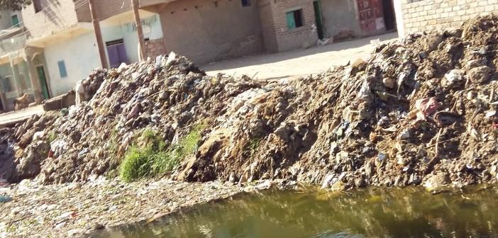 إلى محافظ أسيوط.. تراكم القمامة في بني شعران يؤرق المواطنين 📷
