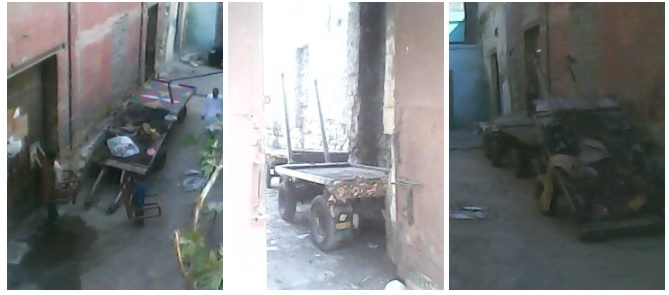 بالصور.. اسطبل في منشأة ناصر يهدد حياة السكان