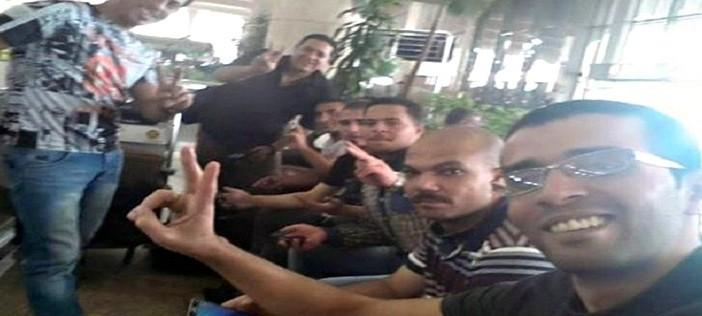 بالصور.. «شارك المصري اليوم» و«امسك فساد» ينجحان في إعادة 7 مصريين من السعودية 📷