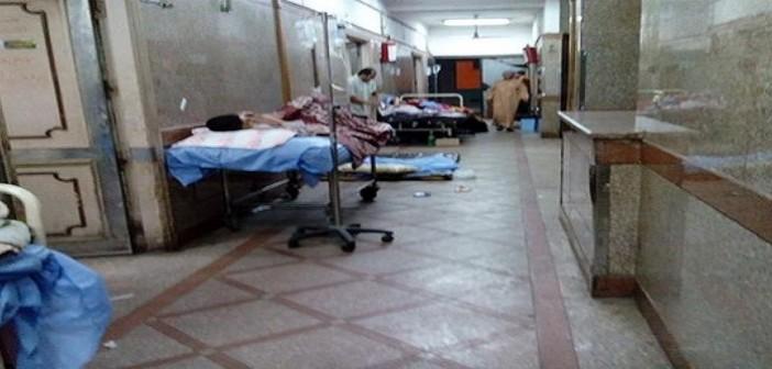 بالصور.. مشاهد الإهمال بمستشفى طوراىء طنطا: المرضى على الأسرة بالطرقات 📷