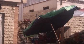 الباعة الجائلون يحتلون رصيف مستشفى العامرية بالإسكندرية