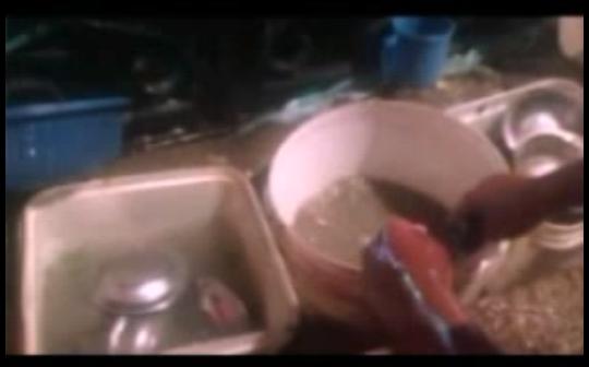 📹 بالفيديو.. مطعم بالفيوم ينظف أطباقه بالمياه الملوثة: «اغسل واديها»