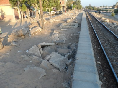 محطة قطارات أبو رية بالبحيرة